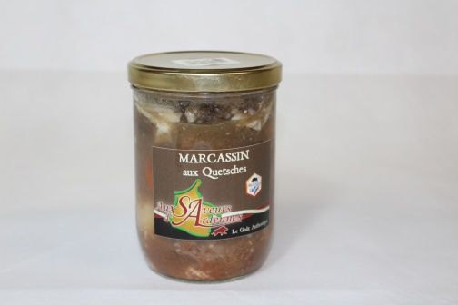MARCASSIN AUX QUETSCHES 750 grs