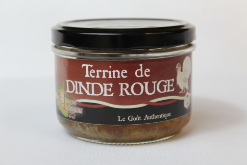 TERRINE DINDE ROUGE